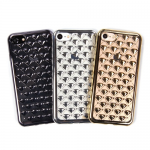 Чехол ТПУ Diamond для iPhone 5 арт.009437 (золотой)