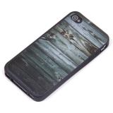 Чехол силикон. Дерево для iPhone 4 арт.009195