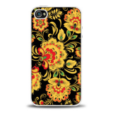 Чехол силикон. Fashion Picture для iPhone 4 арт.53201
