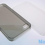 Защитная крышка для iPhone 5 ультратонкая (белый матовый)европакет
