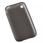 Чехол силикон. для iPhone 3 черный матовый