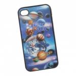 Защитная крышка 4/4S 3D Планеты