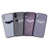 Чехол ТПУ Batman для iPhone X/XS, арт.010069 (Темно-серый)