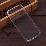 Силиконовый чехол для iPhone XR, 1 mm, арт.008291-1 (Прозрачный)