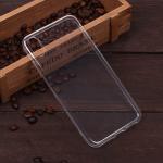 Силиконовый чехол для iPhone XS Max, 1 mm, арт.008291-1 (Прозрачный)