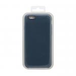 Силиконовый чехол Iphone 6/6S Silicone Case, темно-синий в блистере