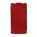 Чехол-книжка Armor Case для LENOVO S850, экокожа, цвет: красный, в техпаке