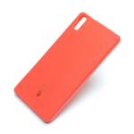 Чехол силиконовый Cherry для LENOVO Vibe Shot Z90, тонкий, непрозрачный, матовый, цвет: красный
