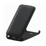 Чехол-книжка Armor Case/Mariso для LG L70 D325 Dual, экокожа, цвет: чёрный, в техпаке