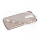 Чехол силиконовый для LG K7 ультратонкий,прозрачный,глянцевый,цвет:черный,в техпаке