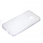 Накладка силиконовая для Meizu M5, белая