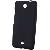 Чехол силик. для Microsoft Lumia 430 матовый черный в коробке