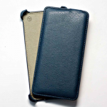 Чехол футляр-книга  для Microsoft Lumia 640  техпак голубой