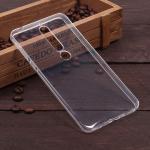 Силиконовый чехол для Nokia 6 (2018), 1 мм, арт.008291-1 (Прозрачный)