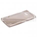 Силиконовый чехол для Nokia Lumia 730, 0.3 мм, арт.008291 (Прозрачный)