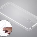 Бампер силикон.для Nokia X прозрачный