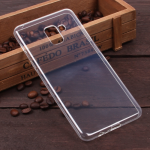 Силиконовый чехол для Samsung Galaxy A8+(2018), 1 мм, арт.008291-1 (Прозрачный)