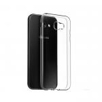 Чехол силиконовый skinBOX для SAMSUNG Galaxy A3 (2017), тонкий, прозрачный, глянцевый