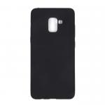 Чехол ТПУ для Samsung Galaxy A8+(2018), арт.009486 (Черный)