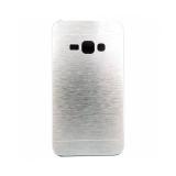 Накладка Motomo для Samsung J120/J1 (2016), серебряная