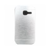 Накладка Motomo для Samsung J105/J1 mini, серебряная