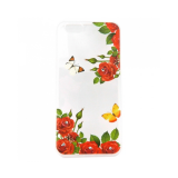 Накладка Phopart для Samsung J3 Prime со стразами, цветы №39