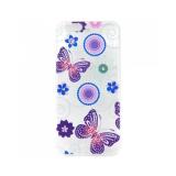 Накладка Phopart для Samsung J3 Prime со стразами, бабочки №41