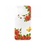 Накладка Phopart для Samsung G570/J5 Prime со стразами, цветы №39