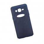 Защитная крышка для Samsung J2 Prime LP Сетка Soft Touch(темно синяя)