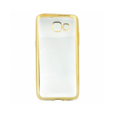 Накладка силиконовая с рамкой для Samsung G570/J5 Prime, золотая