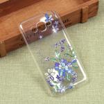 Силиконовый чехол с цветами для Samsung Galaxy J2 Prime, арт. 009618