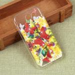 Силиконовый чехол с цветами для Samsung Galaxy J3 Emerge, арт. 009619