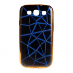 Чехол силиконовый для SAMSUNG Galaxy J5 (2016), тонкий, черный, с синей паутиной