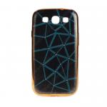 Чехол силиконовый для SAMSUNG Galaxy J5 (2016), тонкий, чёрный, с зелёной паутиной