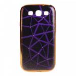 Чехол силиконовый для SAMSUNG Galaxy J5 (2016), тонкий, коричневый, с фиолетовой паутиной