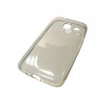 Чехол силикон.для Samsung Galaxy J1(2016) mini прозрачно-черный в техпаке