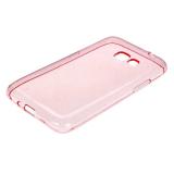 Чехол силикон.для Samsung Galaxy J1 (2016) mini прозрачно-розовый в техпаке