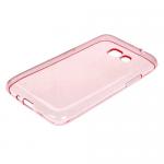 Чехол силикон.для Samsung Galaxy J1 (2016)mini прозрачно-розовый в техпаке