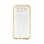 Накладка силиконовая с рамкой для Samsung J510/J5 (2016), золотая