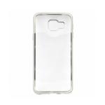 Накладка силиконовая с рамкой для Samsung G570/J5 Prime, серебряная