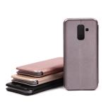 Чехол-книжка для Samsung Galaxy A6+ (2018), арт.009805 (Серый)
