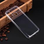 Силиконовый чехол для Samsung Galaxy A40, 1 мм, арт.008291-1 (Прозрачный)