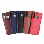 Чехол ТПУ под кожу для Samsung Galaxy A20/A30, арт. 011178 (Красный)