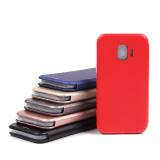 Чехол-книжка для Samsung Galaxy J2 Core, арт.009805 (Красный)