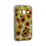 Чехол Lily для Samsung Galaxy Core 2 (подсолнухи)