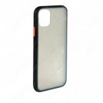 Накладка задняя без бренда для SAMSUNG Galaxy M51, SHELL, пластик, силикон, матовая, цвет: чёрный