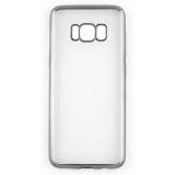 Накладка силиконовая с рамкой для Samsung G950/S8, черная