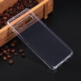 Силиконовый чехол для Samsung Galaxy S10, 1 мм, арт.008291-1 (Прозрачный)