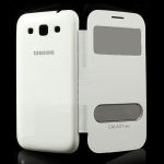 Чехол для Samsung i8552 (белый с задней крышкой)в техпаке