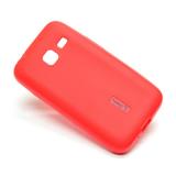 Чехол силикон.Cherry для Samsung Galaxy J1 mini (2016) красный